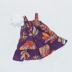 🌺Old Navy tropical sundress for baby 6-12mo
